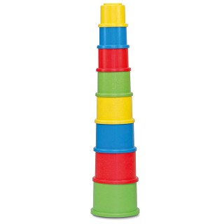 Anbac Toys - Stapelbekers - 8 delig