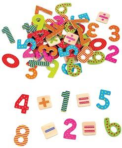 Lelin Toys - Magnetische Cijfers en Rekentekens - 60 stuks