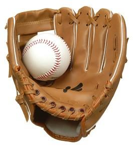 Angelsports - Honkbalhandschoen en Bal