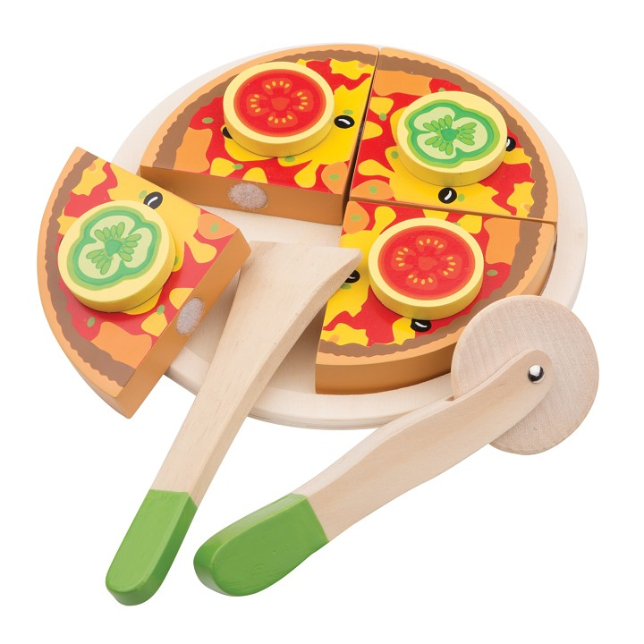 New Classic Toys - Snijset - Pizza Groente