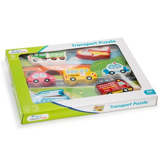 New Classic Toys - Chunky Transport Puzzel