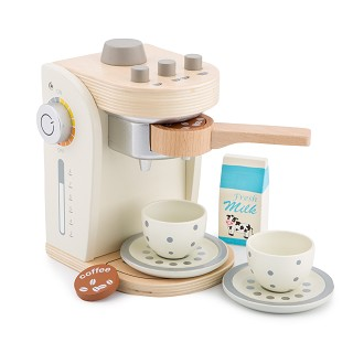 New Classic Toys - Koffiezetter - Wit