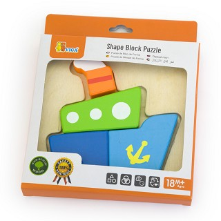Viga Toys - Mini Puzzel Boot