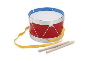 New Classic Toys - Trommel - Rood - Ø 22 cm