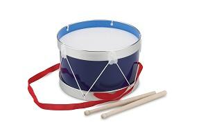 New Classic Toys - Trommel - Blauw - Ø 22 cm