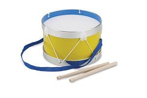 New Classic Toys - Trommel - Geel - Ø 22 cm