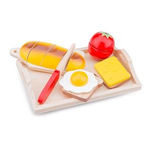 New Classic Toys - Snijset - Ontbijt op Dienblad