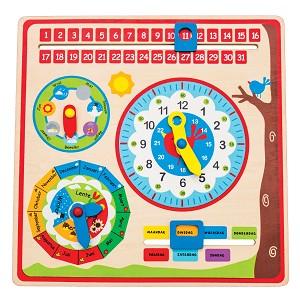 New Classic Toys - Kalenderklok NL