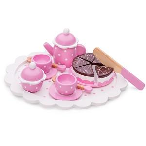 New Classic Toys - Koffie/Thee Set - Servies met Snijtaart