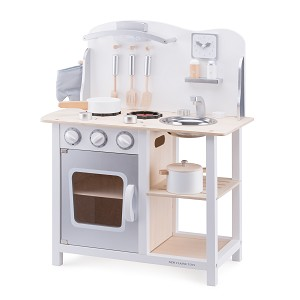 New Classic Toys - Kinderkeuken - Bon Appetit - Wit/Zilver